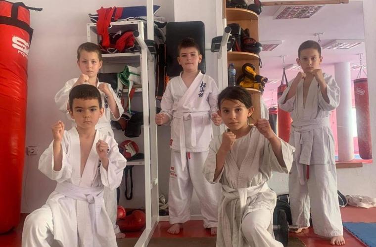 "Training device for sports club ""Katana"""
